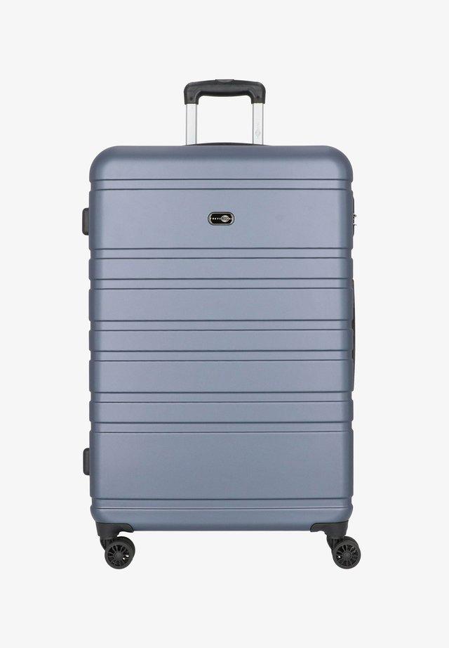 HAMBURG 4-ROLLEN TROLLEY 78 CM - Wheeled suitcase - blau