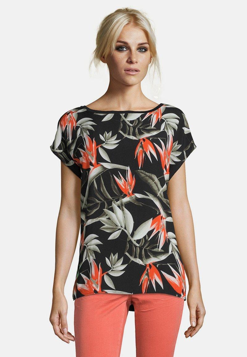 Cartoon - MUSTER - Print T-shirt - black/orange