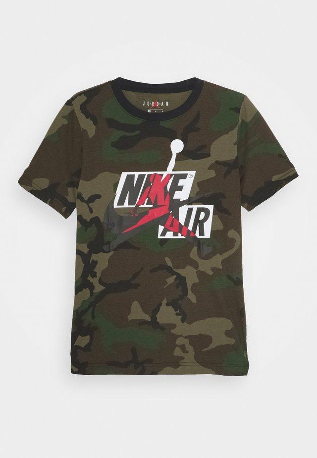 JUMPMAN CLASSICS CAMO - Camiseta estampada - multi coloured