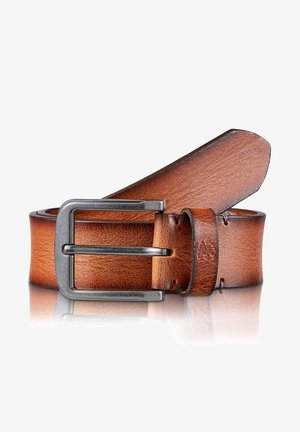 JAMES - Belt business - cognac