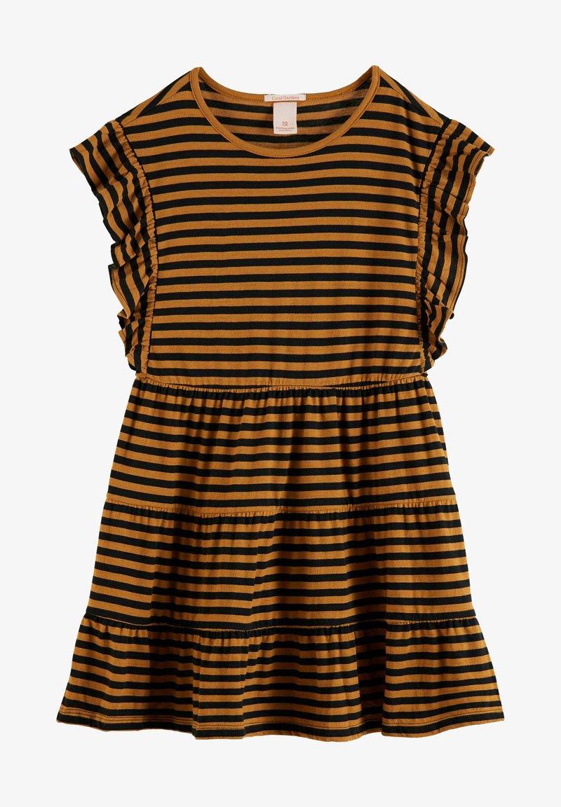 Scotch & Soda - Jersey dress - brown