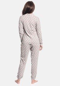 Vive Maria - WINTER TALE  - Pyjama set - grau meliert allover - 1