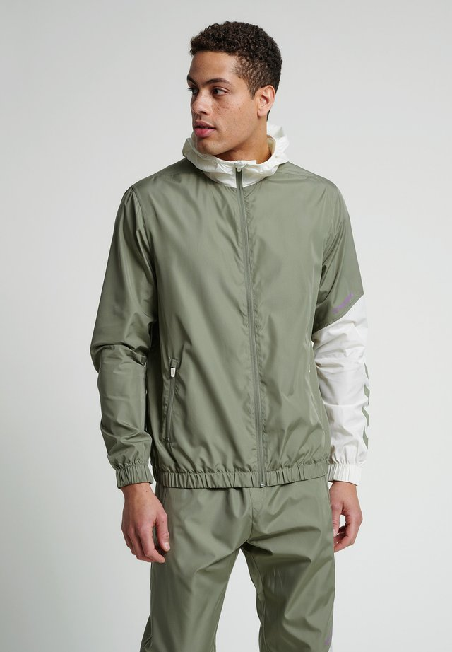 SULLIVAN - Waterproof jacket - vetiver