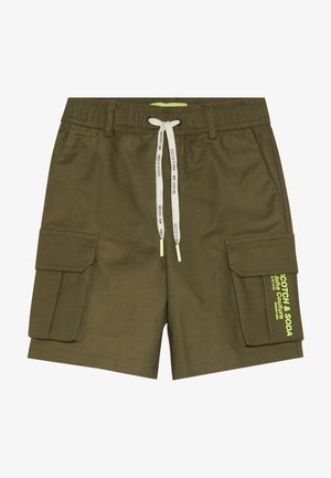 CLEAN - Cargo trousers - military