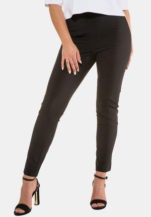 STRETCHHOSE SIENNA ELASTIKBUND - Leggings - Trousers - schwarz