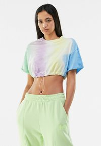 Bershka - T-shirt imprimé - multi-coloured - 0