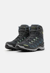 Lowa - INNOX PRO GTX MID - Hiking shoes - graphite/mint - 1