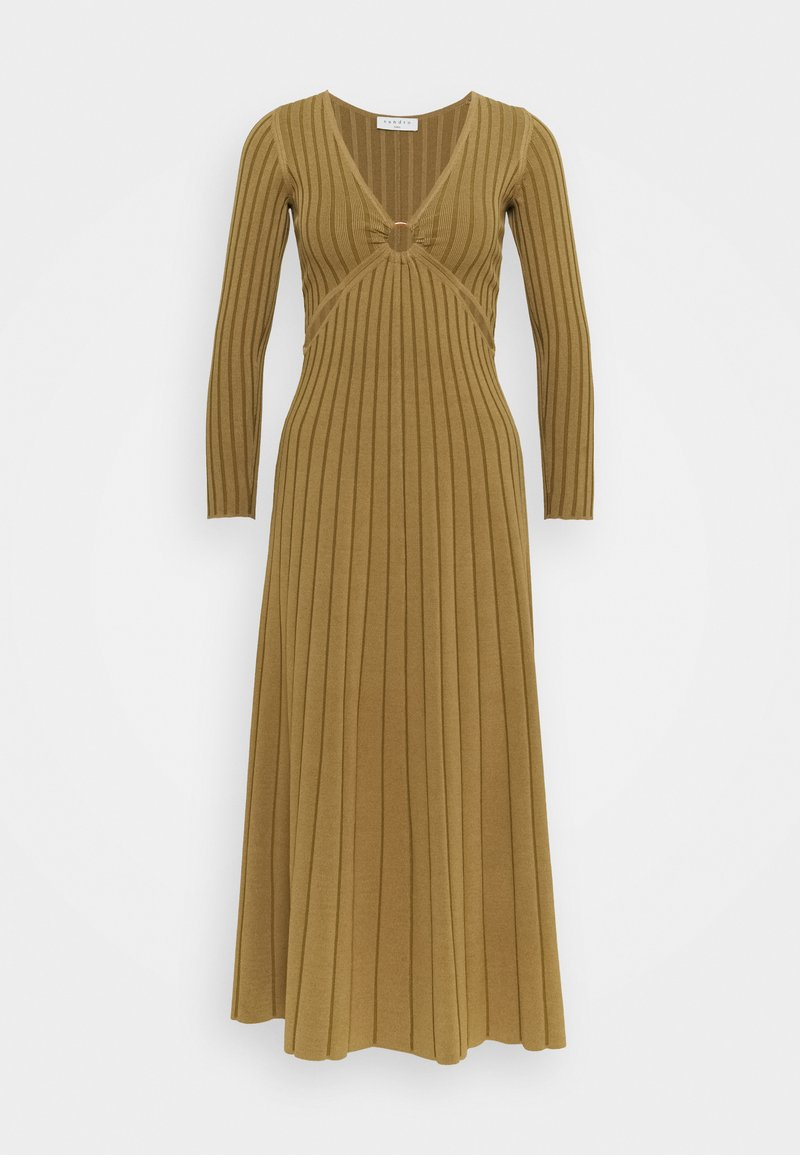 sandro - Maxi dress - olive