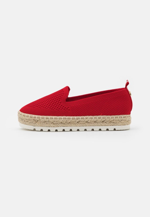 Espadrillas - red