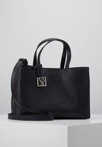 Armani Exchange - SHOPPING BAG - Håndveske - black - 0