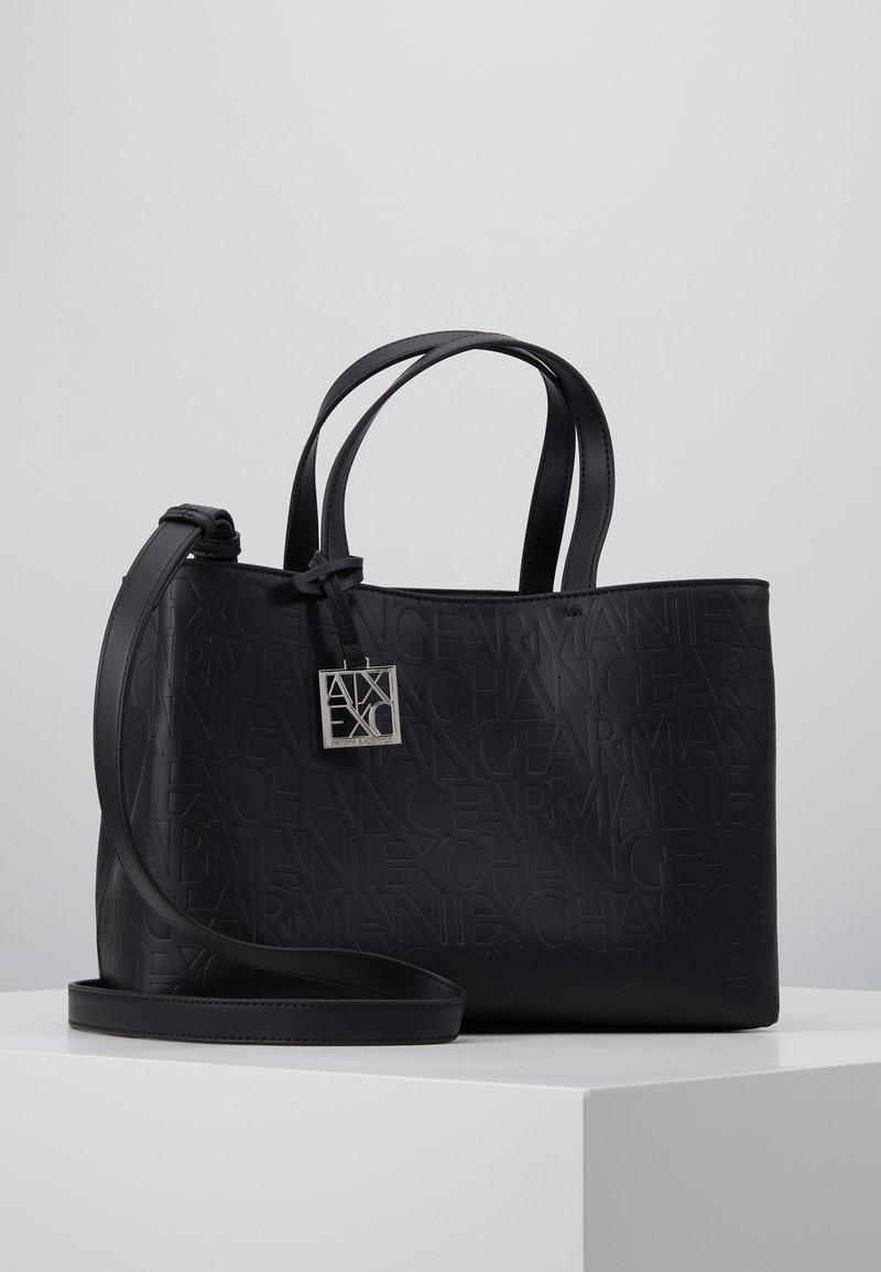 Armani Exchange - SHOPPING BAG - Håndveske - black