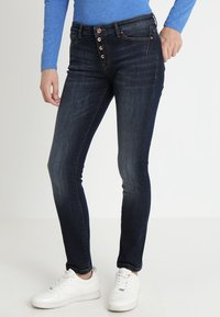 edc by Esprit - Slim fit jeans - blue dark wash - 0