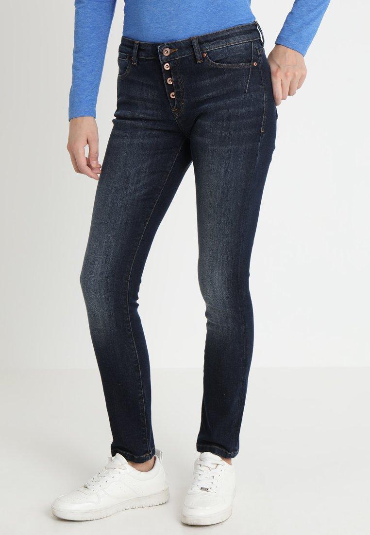 edc by Esprit - Slim fit jeans - blue dark wash