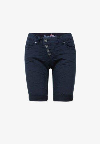 MALIBU - Denim shorts - dark blue
