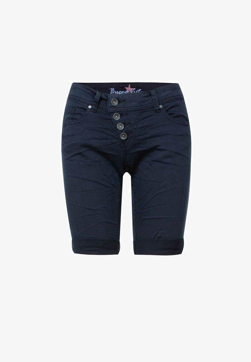 Buena Vista - MALIBU - Denim shorts - dark blue