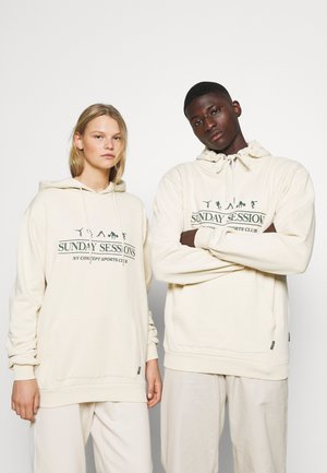 SESSIONS HOODIE UNISEX - Sweater - ecru