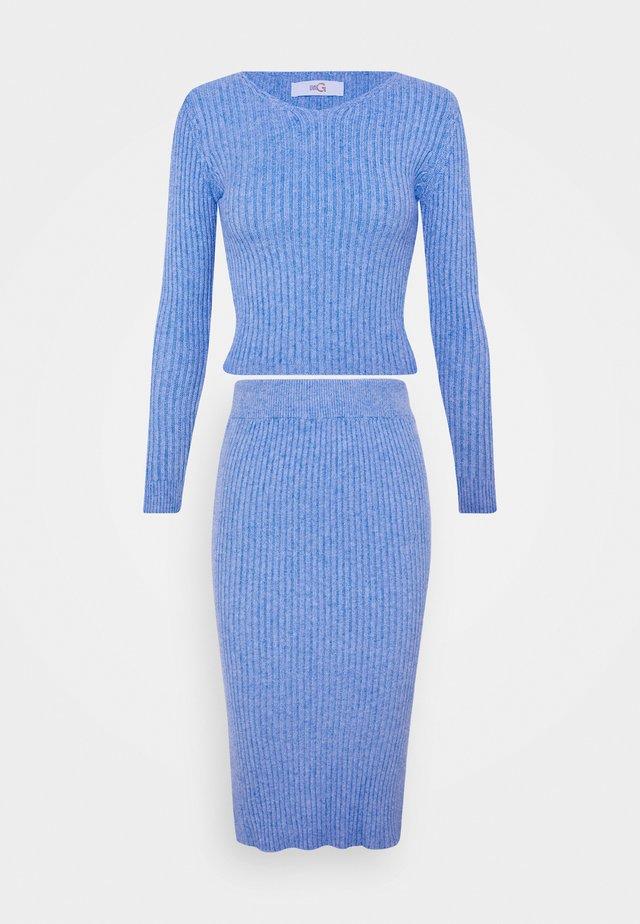 KYLIE LOUNGE SET - Maglione - cornflour blue