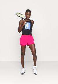 Nike Performance - FLEX - Sports shorts - vivid pink/white - 1