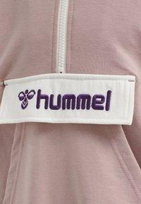 Hummel - VALERIE LONG UNISEX - Sweatshirt - deauville mauve - 2