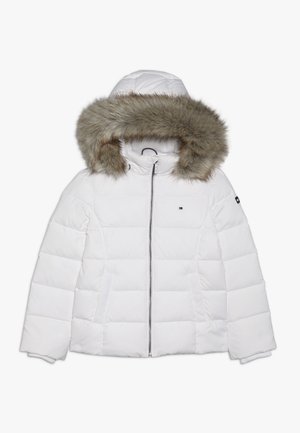 ESSENTIAL BASIC JACKET - Bunda z prachového peří - white
