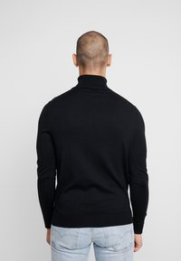 Jack & Jones PREMIUM - JPRFAST ROLL NECK  - Jumper - black - 2
