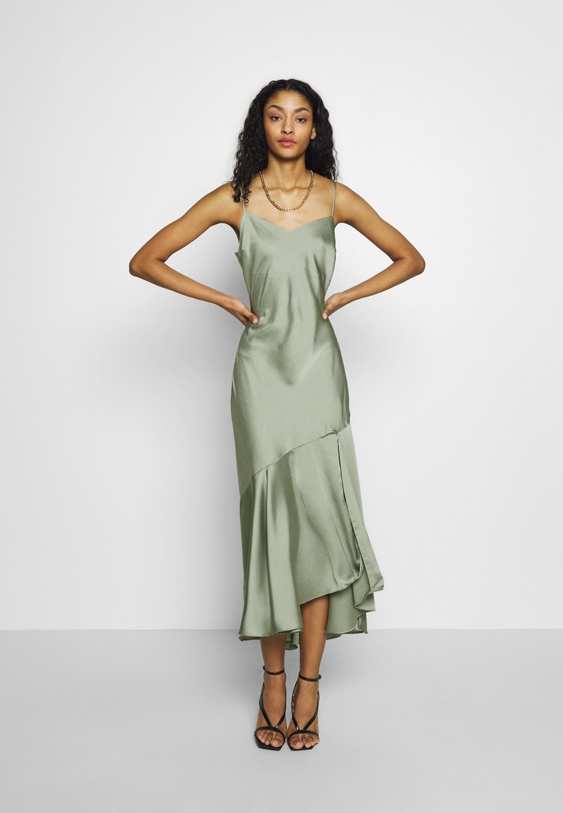 New Look - TRUMPET MIDI DRESS - Koktejlové šaty / šaty na párty - light green