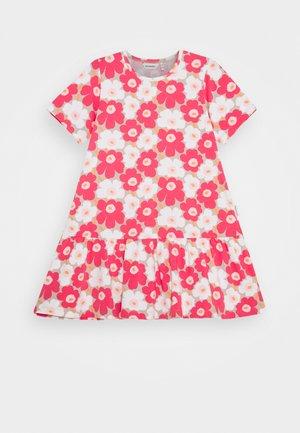 IHAILLA UNIKKO DRESS - Jerseykjole - beige/pink/white