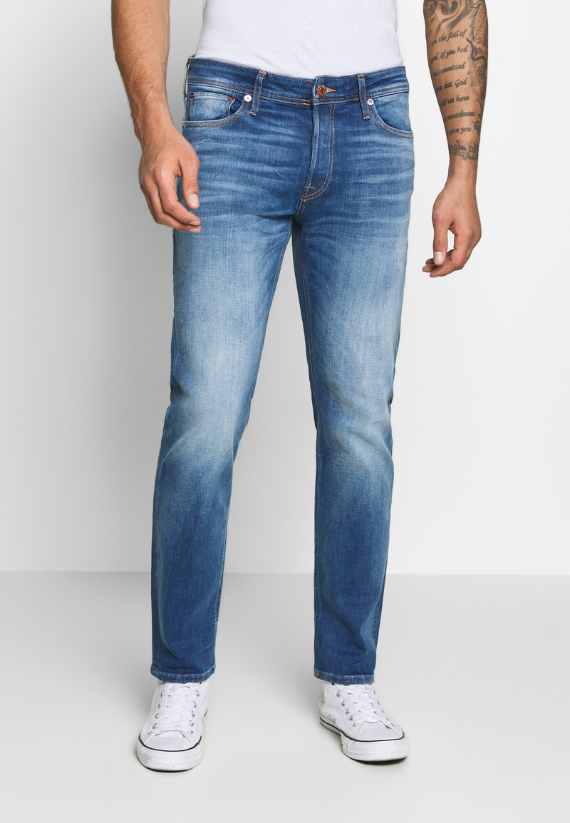 Jack & Jones - JJIMIKE JJORIGINAL JOS - Straight leg jeans - blue denim