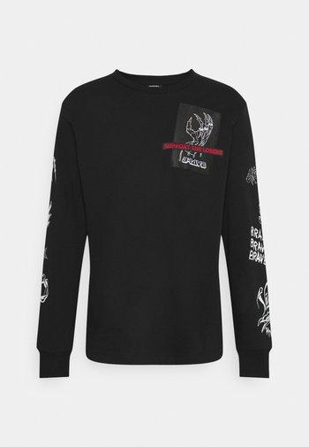 T-JUST-LS-A9 MAGLIETTA UNISEX - Long sleeved top - black