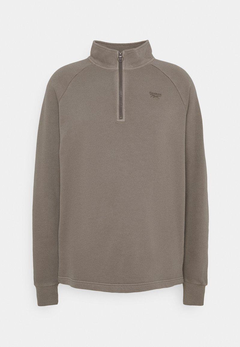 Reebok Classic - HALFZIP - Sweatshirt - trek grey
