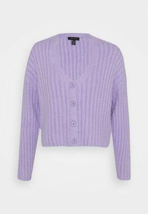 FLUFFY - Cardigan - lilac