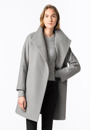 Classic coat - silbergrau
