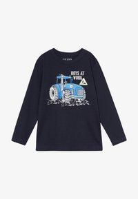 Blue Seven - KIDS TRACTOR - Long sleeved top - nachtblau original - 2
