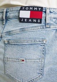 Tommy Jeans - SHORT SKIRT - Jupe en jean - cony light blue comfort - 4