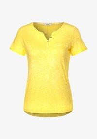 Cecil - Basic T-shirt - gelb - 3