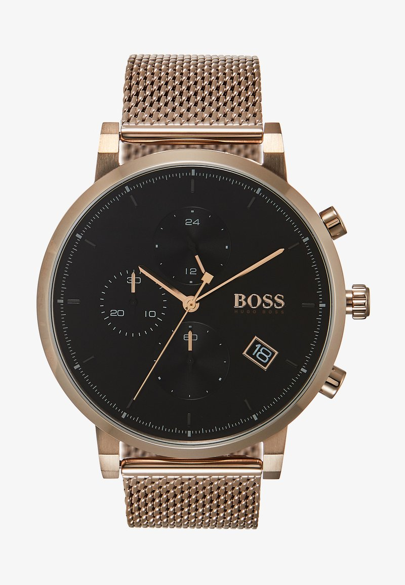 BOSS - INTEGRITY - Chronograph - rose gold-coloured