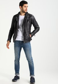 Freaky Nation - SWAGGER - Leather jacket - black - 1