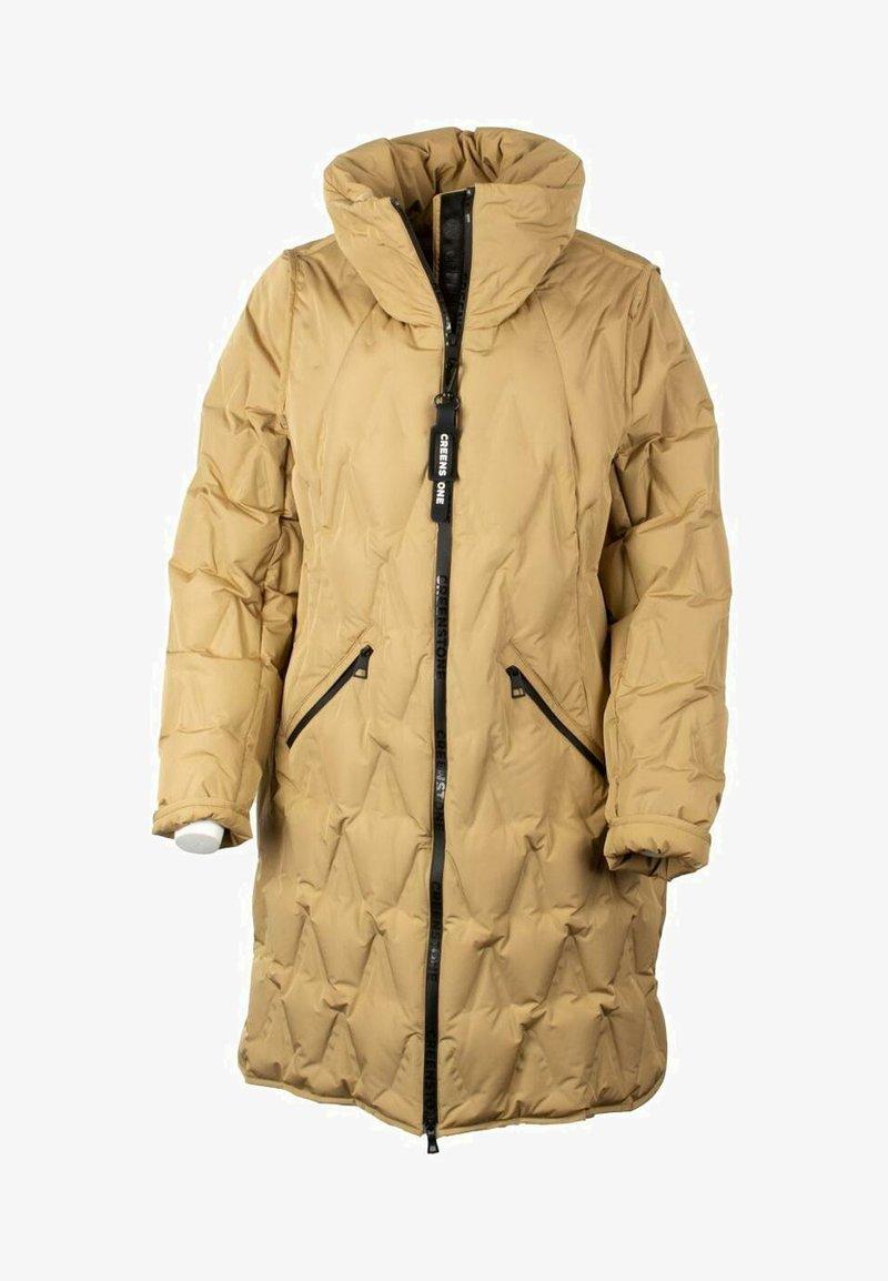 Creenstone - PUFFERJACKE - Down jacket - camel