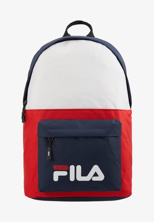 NEW BACKPACK SCOOL TWO - Rucksack - black iris/true red/bright white