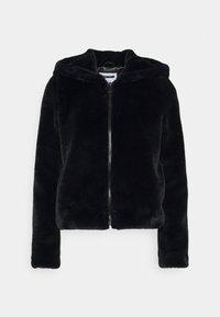 Noisy May Petite - NMLOMA JACKET - Zimní bunda - black - 3