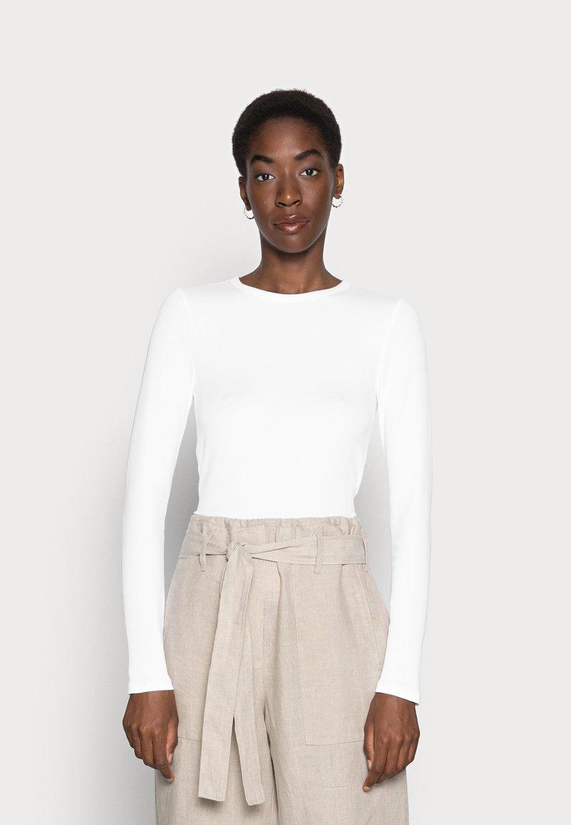 GAP - CREW - Long sleeved top - optic white