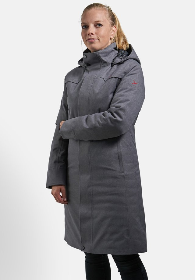 DAUNENMANTEL TANA - Down coat - smoke