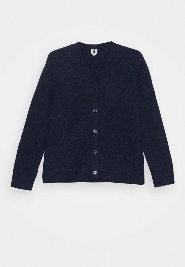 Cardigan - blue dark