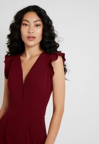 WAL G TALL - Jumpsuit - burgundey - 3