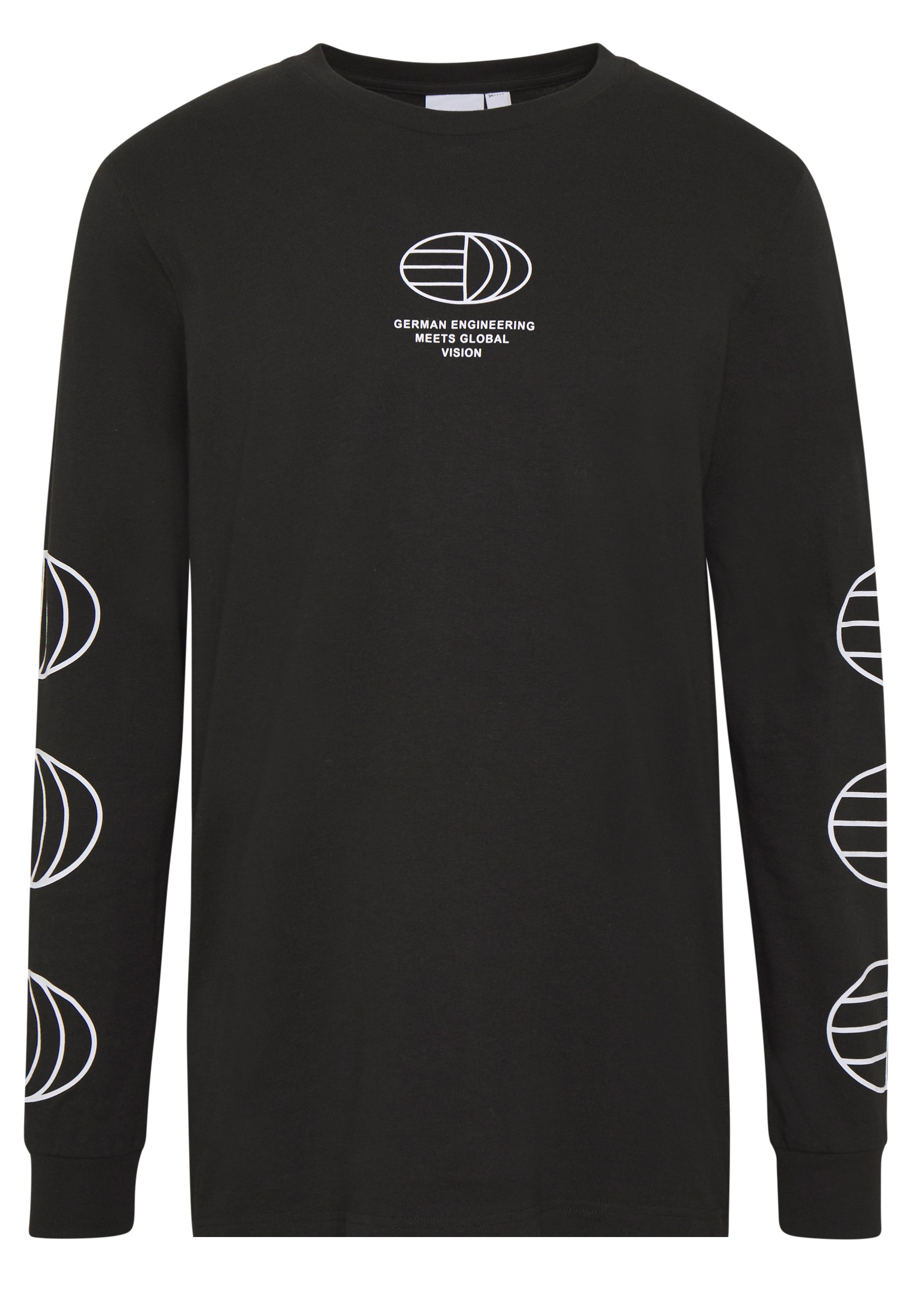 Adidas Originals Graphics Graphic Tee Long Sleeve T-shirt - Bluzka Z Długim Rękawem Black