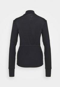 Reebok - SPEEDWICK RUNNING 1/4 ZIP - Fleece jumper - black - 1