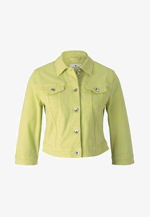 Denim jacket - celery ice