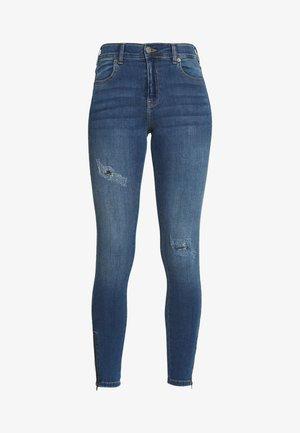 LEXY ZIP - Jeans Skinny Fit - vagabond blue