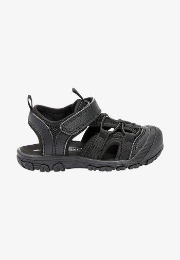 KHAKI BUMP TOE TREKKER SANDALS (YOUNGER) - Walking sandals - black