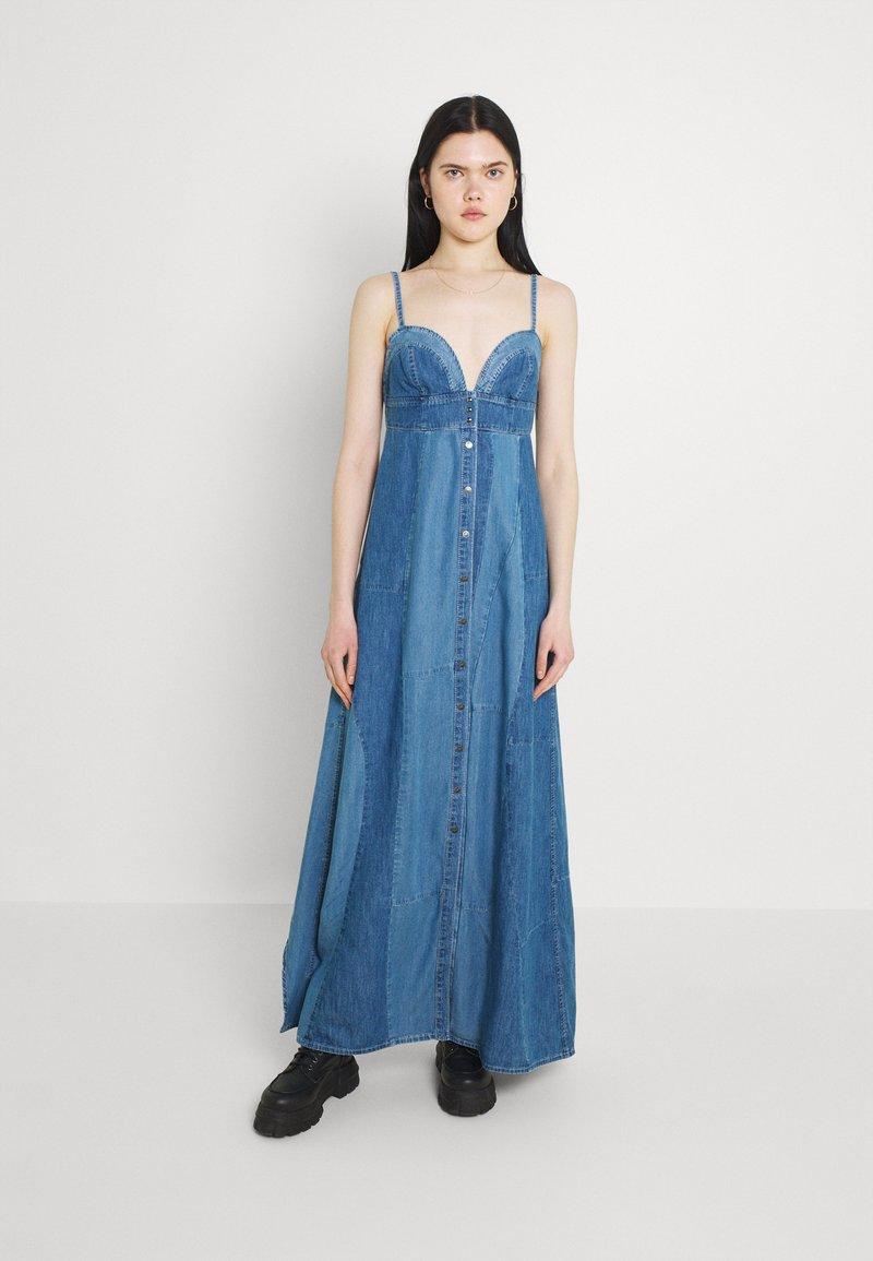 Diesel - DE-ARYA - Robe longue - denim blue